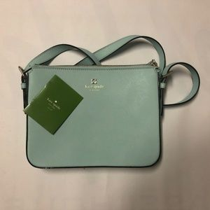 NWOT Kate Spade - Mint Crossbody Purse